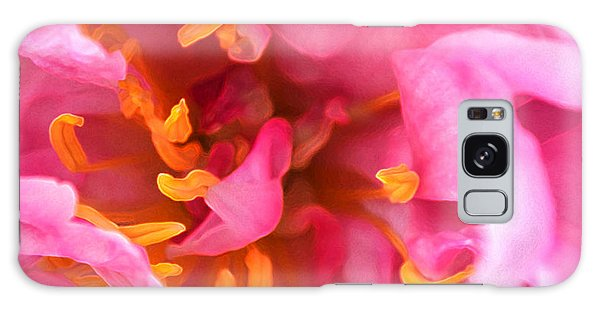 Pink Beauty Galaxy Case by Tine Nordbred
