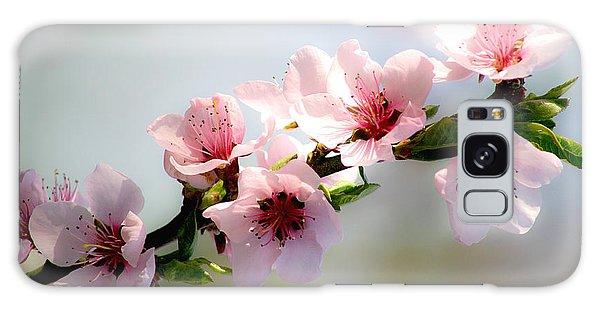Pink Blossom Galaxy Case