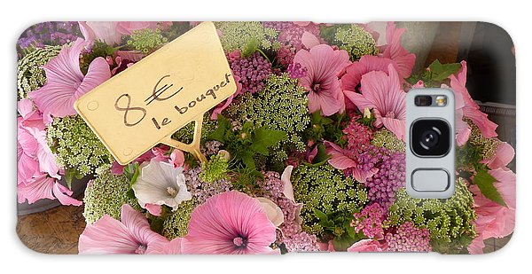 Pink Bouquet Galaxy Case by Carla Parris