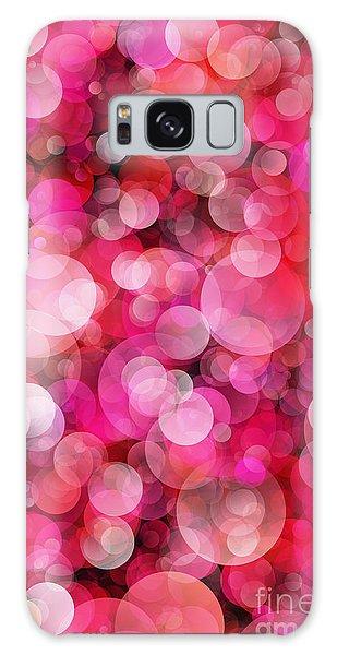 Pink Bubbles Galaxy Case