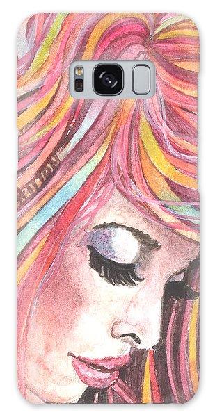 Pink Chiffon Galaxy Case