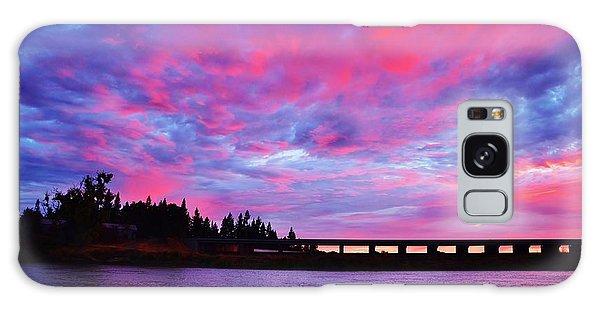 Pink Cloud Invasion Sunset Galaxy Case