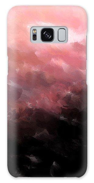 Pink Clouds Galaxy Case
