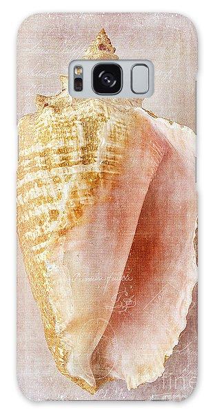 Pink Conch Galaxy Case