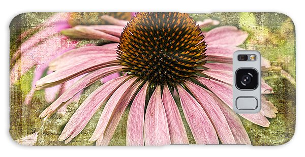 Pink Coneflower Galaxy Case by Vicki DeVico
