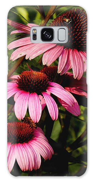 Pink Coneflowers Galaxy Case