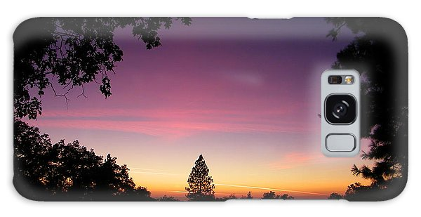 Pink Contrails Galaxy Case