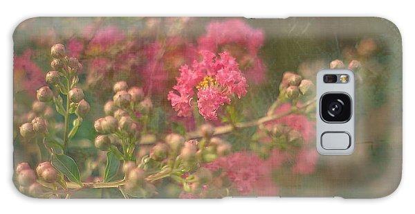 Pink Crepe Myrtle Galaxy Case