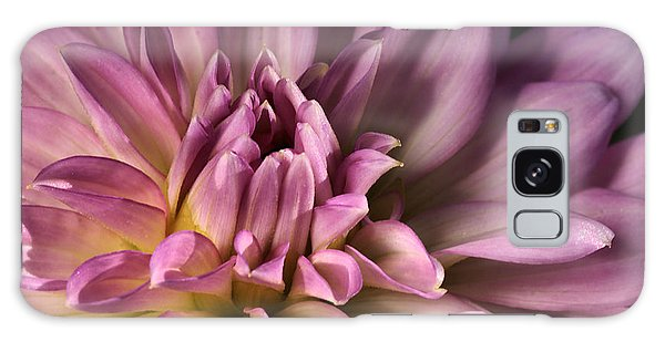 Pink Dahlia's Dream Galaxy Case by Joy Watson