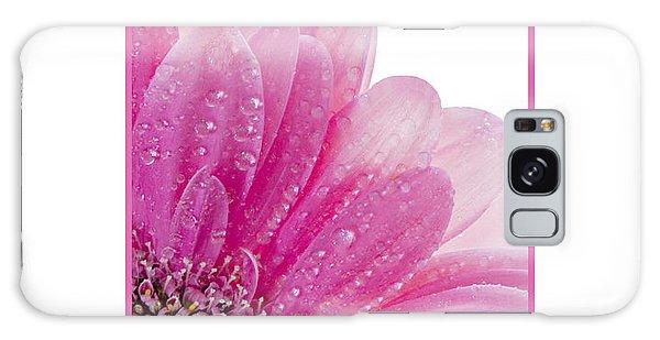 Pink Daisy Petals Galaxy Case