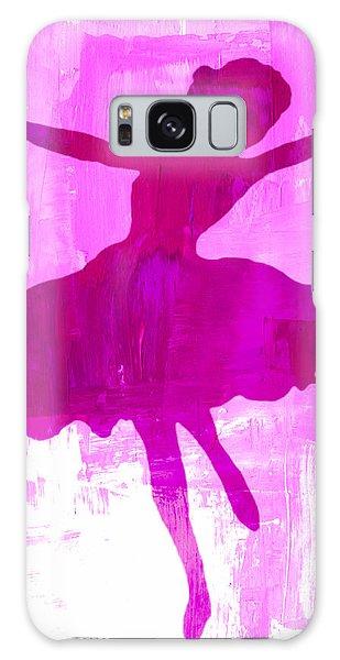 Pink Dancer Galaxy Case