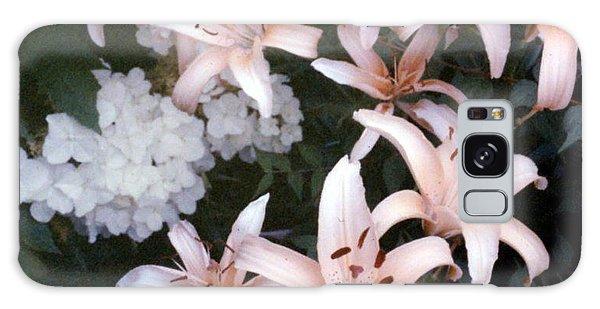 Pink Daylilies Galaxy Case