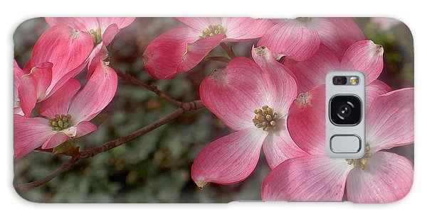Pink Dogwood Delight Galaxy Case
