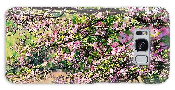 Pink Dogwood I Galaxy Case