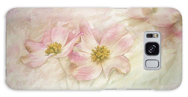 Pink Dogwood Galaxy Case by Linda Blair