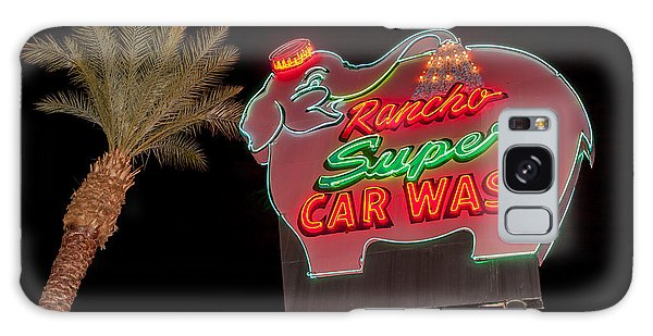 Pink Elephant Car Wash 36 X 24 Galaxy Case