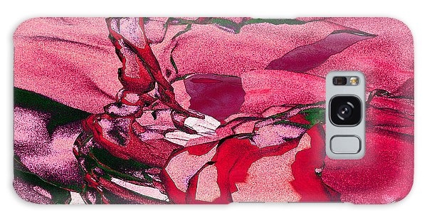 Pink Eyes Galaxy Case by Matt Lindley