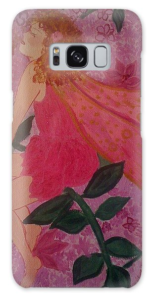Pink Fairy Galaxy Case by Judi Goodwin