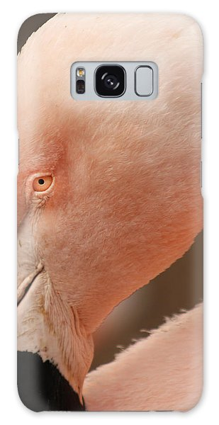 Pink Flamingo Galaxy Case by Bob and Jan Shriner