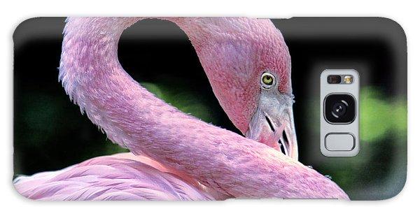 Pink Flamingo Galaxy Case