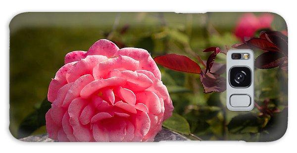 Pink Floral Galaxy Case
