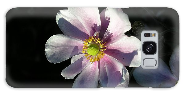Pink Flower Galaxy Case by Bev Conover