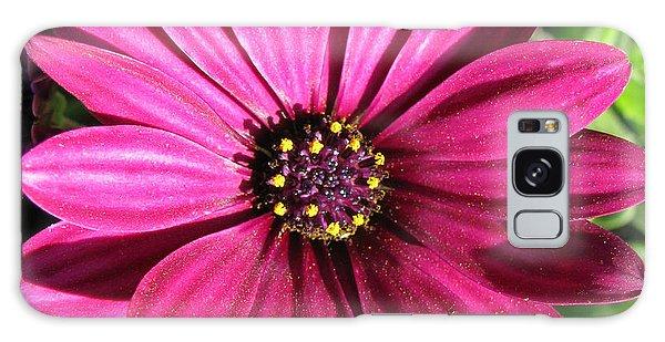 Pink Flower Galaxy Case by Eva Csilla Horvath