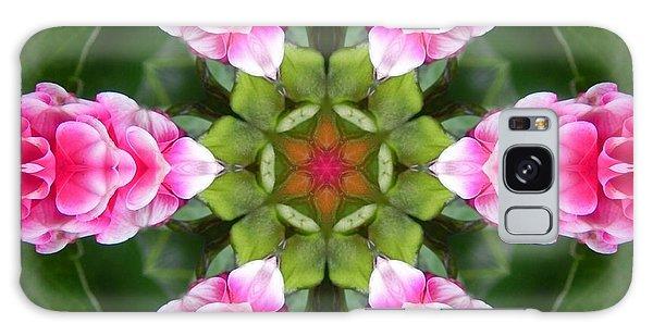 Pink Flower Star Mandala Galaxy Case