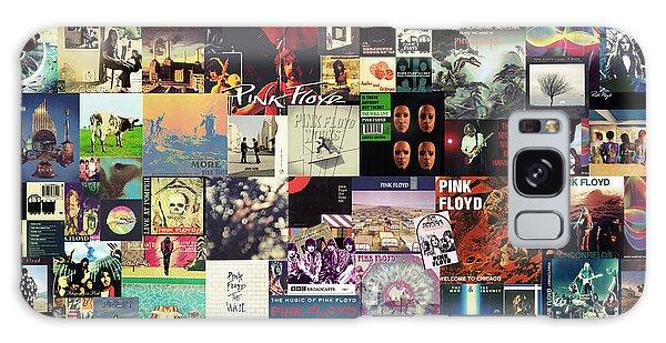 Pink Floyd Collage I Galaxy Case