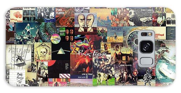 Mixed-media Galaxy Case - Pink Floyd Collage II by Zapista Zapista