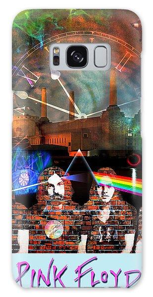 Pink Floyd Collage Galaxy Case