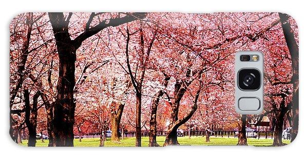Pink Forest Galaxy Case by Patti Whitten