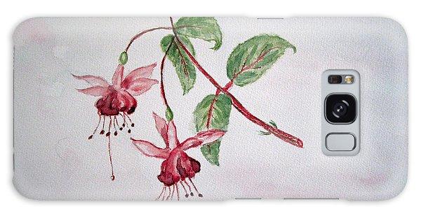 Pink Fuchsia's  Galaxy Case