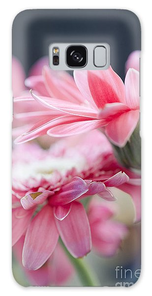 Pink Gerber Daisy - Awakening Galaxy Case by Ivy Ho