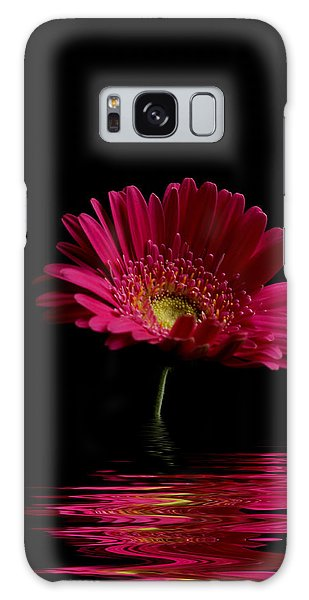 Pink Gerbera Flood 1 Galaxy Case
