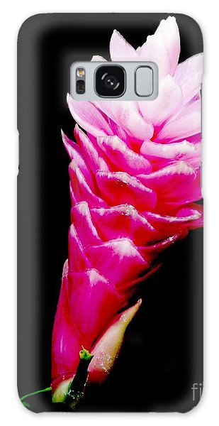 Pink Ginger Lilly Galaxy Case by Amar Sheow