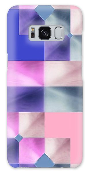 Pink Glow 2 Galaxy Case by Ann Calvo