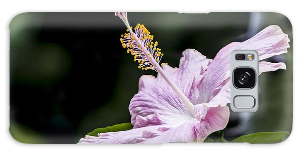 Pink Hibiscus Flower Galaxy Case by Photographic Art by Russel Ray Photos