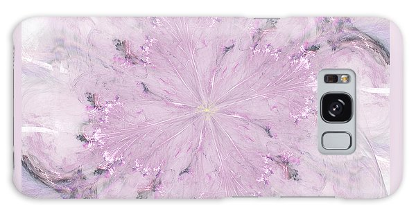 Pink Hibiscus Galaxy Case by Victoria Harrington