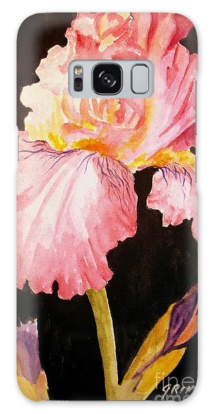 Pink Iris Galaxy Case by Carol Grimes