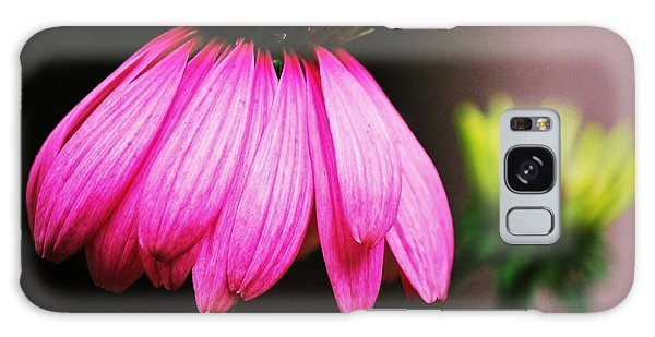 Pink Is A Colour... Galaxy Case by Al Fritz