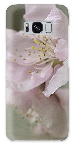 Pink Is The Color Of Happiness Galaxy Case by Linda Lees