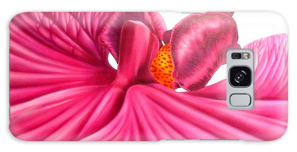 Pink Lady Galaxy Case by Darren Robinson