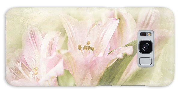 Pink Lilies Galaxy Case by Linda Blair