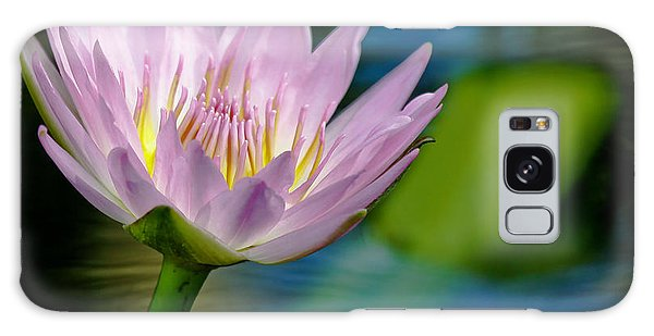 Purple Petals Lotus Flower Impressionism Galaxy Case