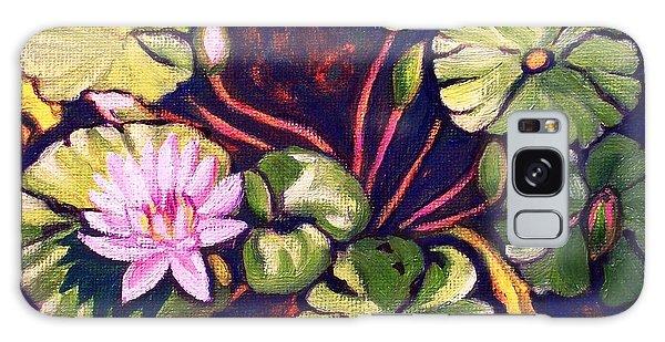 Pink Lotus Flower Galaxy Case