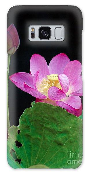 Pink Lotus Flowers Galaxy Case