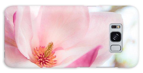 Pink Magnolia Galaxy Case by Denise Bird