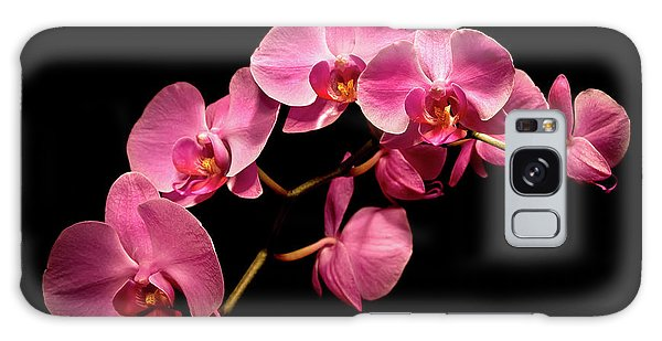 Pink Orchids 3 Galaxy Case