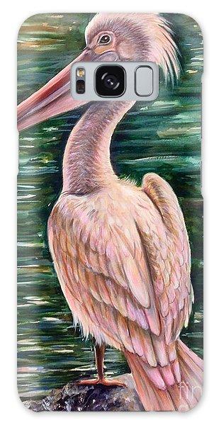 Pink Pelican Galaxy Case